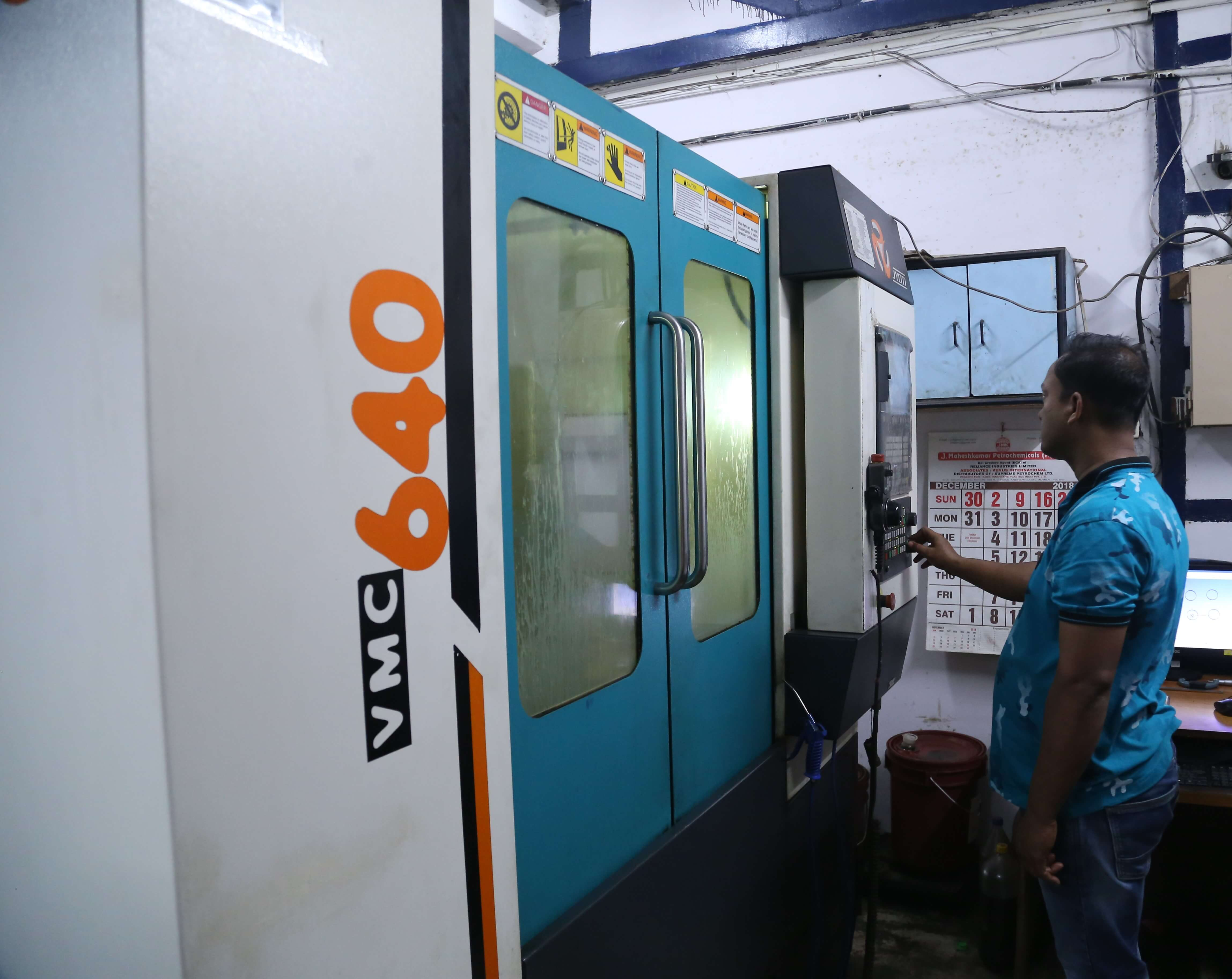 CNC Machine Operator – VMC 640